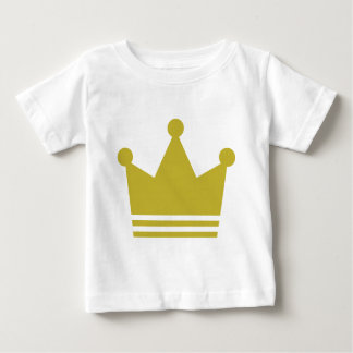 golden party crown icon infant t-shirt