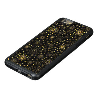 Golden Pattern OtterBox iPhone 6 Plus Case