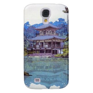 Golden Pavilion  Hiroshi Yoshida garden lake scene Samsung Galaxy S4 Case
