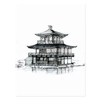 Golden Pavilion Postcard