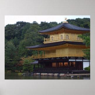 Golden Pavilion Temple Poster