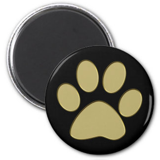 golden paw refrigerator magnets