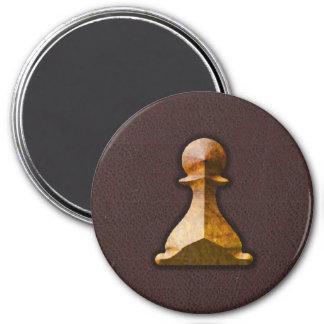 Golden Pawn - Zero Gravity Chess (SLG) Fridge Magnets