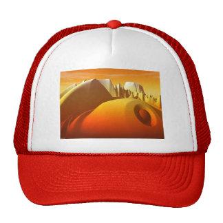 Golden Peaks Trucker Hat