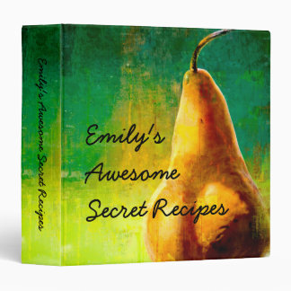Golden Pear Recipe Binder