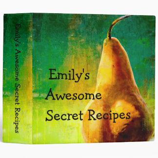 "Golden Pear Recipe Binder (2"")"