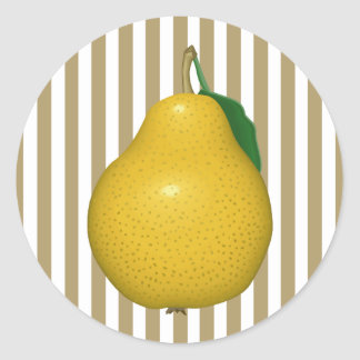 Golden Pear Stickers