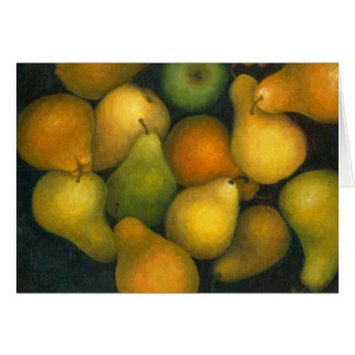 golden pears card