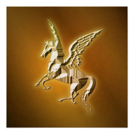 Golden Pegasus Poster