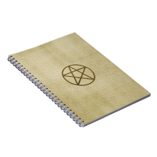 Golden Pentacle Journal Notebook