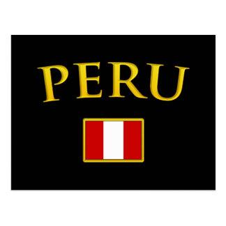 Golden Peru Postcard