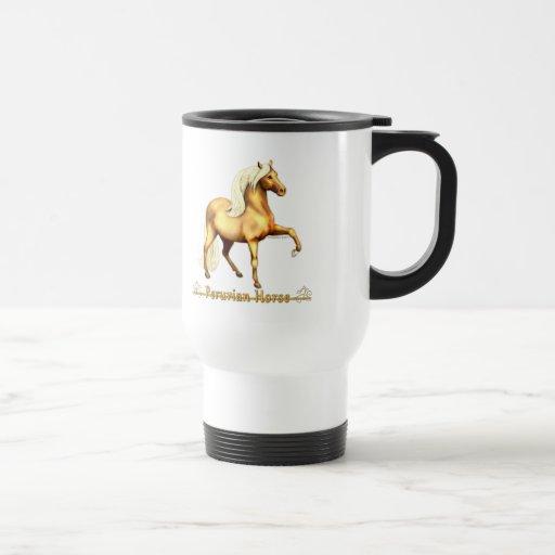 Golden Peruvian Horse Coffee Mug