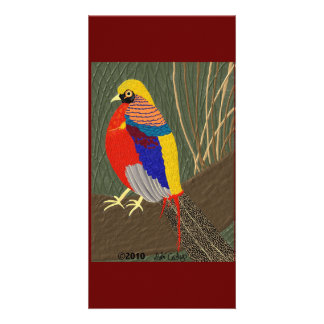 Golden Pheasant Card