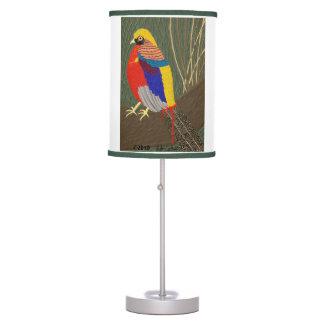 Golden Pheasant Desk Lamp