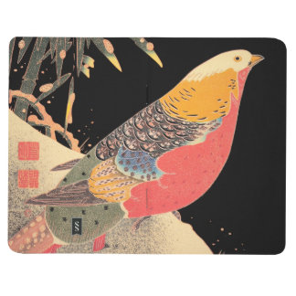Golden Pheasant in the Snow Itô Jakuchû bird art Journals