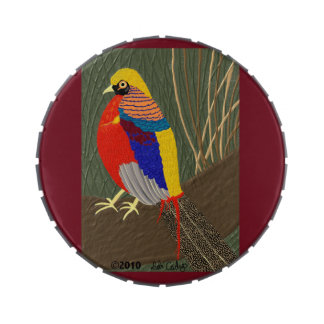 Golden Pheasant Jelly Belly Tin
