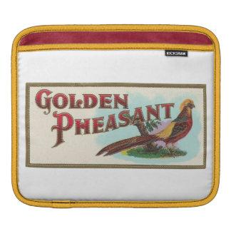Golden Pheasant Rickshaw Sleeve
