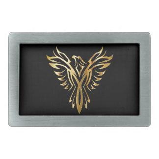 Golden Phoenix Belt Buckle