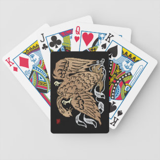 golden phoenix bicycle playing cards