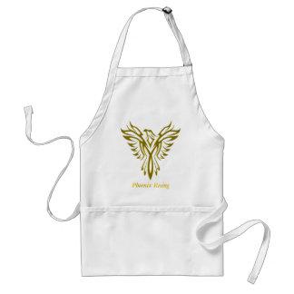 Golden Phoenix Rising apron