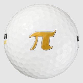 Golden PI Golf Ball