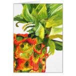 Golden Pineapple (Kimberly Turnbull Art) Card