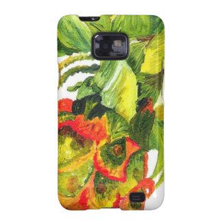 Golden Pineapple (Kimberly Turnbull Art) Samsung Galaxy SII Cover