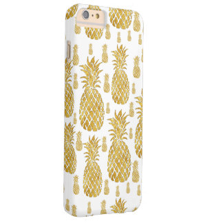 golden pineapples barely there iPhone 6 plus case