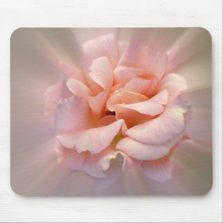 Golden pink mouse pad