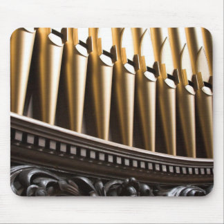 Golden pipes mousepad