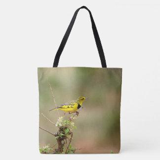Golden pipit, Kenya, All Over Photo Tote Bag