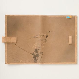 Golden pipit, Kenya, Photo Leather Journal