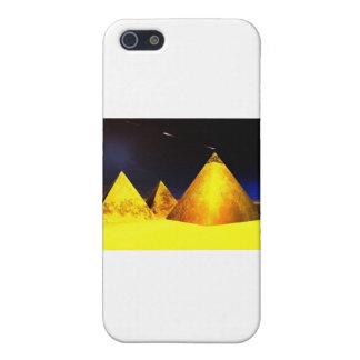 Golden Piramids PGD iPhone 5 Covers