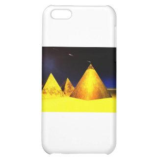 Golden Piramids PGD iPhone 5C Cases