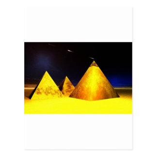 Golden Piramids@PGD Postcard