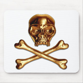 Golden Pirate Pad Mouse Pad