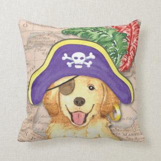 Golden Pirate Throw Pillows