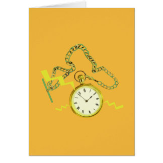 Golden Pocketwatch Cards