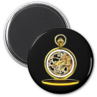 Golden Pocketwatch Pocket Watch Magnet