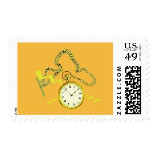 Golden Pocketwatch Stamps