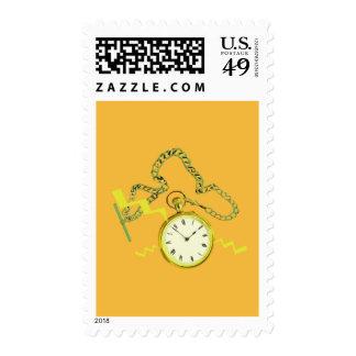 Golden Pocketwatch Stamp