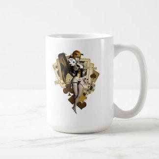 Golden Poker Girl 2 Coffee Mug
