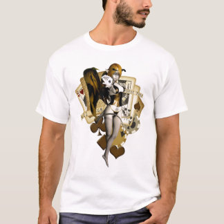 Golden Poker Girl 2 T-Shirt
