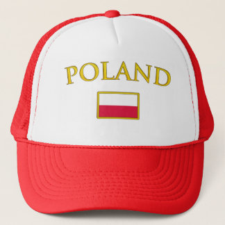 Golden Poland Trucker Hat