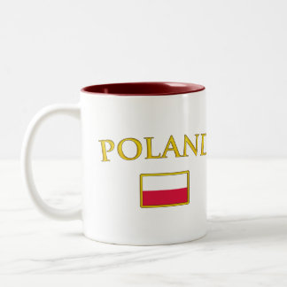 Golden Poland Two-Tone Coffee Mug