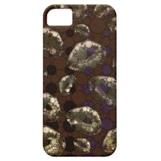 Golden Polka-dot Lips iPhone SE/5/5s Case