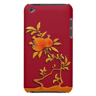 Golden pomegranate barely there iPod case
