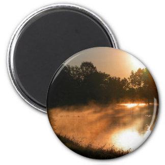 Golden Pond 2 Inch Round Magnet