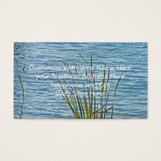 Golden Pond Grasses Reaching for the Light Business Card