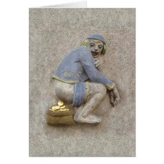 Golden Poop ~ Card / Invitation